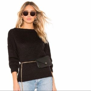 CALLAHAN KNITWEAR Lina Off the Shoulder Sweater